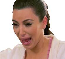 Kim Kardashian Crying by sexy-