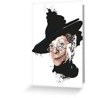Professor McGonagall Greeting Card