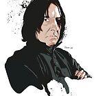 Professor Snape by hans-zombee