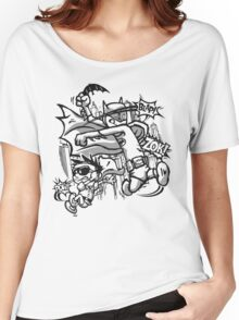 Dick and Bruce - Newsprint Edition Women's Relaxed Fit T-Shirt
