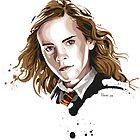 Hermione Granger by hans-zombee