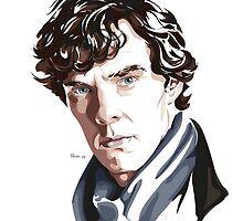Sherlock by hans-zombee