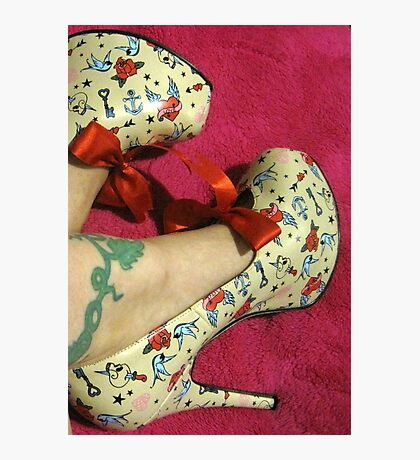 Rockabilly Shoes Photographic Print