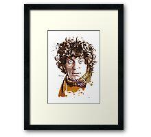 Forth Doctor Framed Print