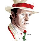 Fifth Doctor by hans-zombee