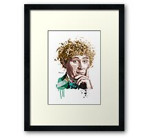 Sixth doctor Framed Print