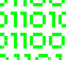 Binary Pi Sticker