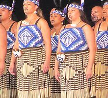 Female Maori Dancers by atkinnt