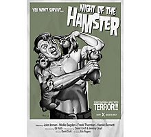 Night of the Hamster Photographic Print