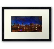 Brisbane's Story Bridge Framed Print
