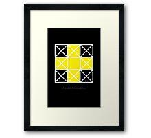 Design 77 Framed Print
