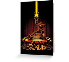 SAMTRON Greeting Card