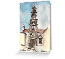 Church at Chandras Greeting Card