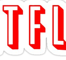 Netflix Black Sticker