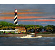 St. Augustine Light Photographic Print
