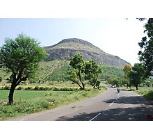 On the way to Shirdi Photographic Print