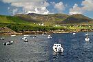 Teelin Bay and Slieve League by WatscapePhoto