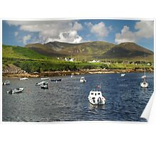 Teelin Bay and Slieve League Poster
