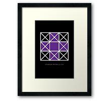 Design 80 Framed Print