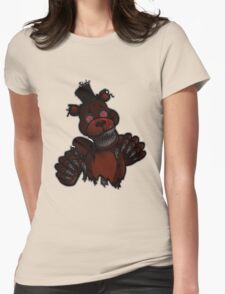 Nightmare Freddy Womens Fitted T-Shirt