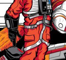Rebel Fox Sticker