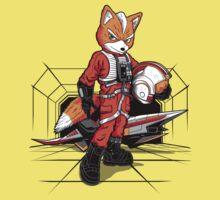 Rebel Fox One Piece - Short Sleeve