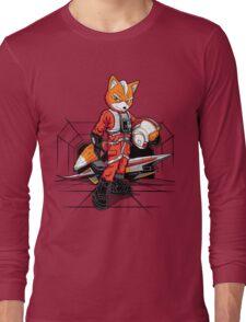 Rebel Fox Long Sleeve T-Shirt