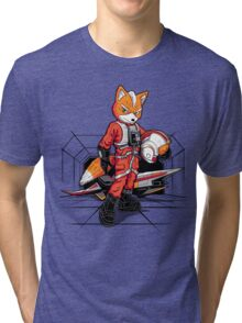 Rebel Fox Tri-blend T-Shirt