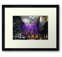 """At Federation Square"" Framed Print"