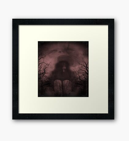 FREEDOM FROM THE DARK Framed Print