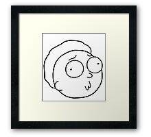 My Little Mortys Framed Print