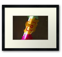 Light Sabre Framed Print