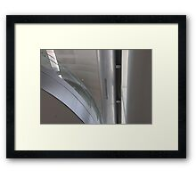 Chrome Dome Framed Print