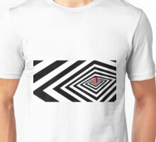 A Round Peg in a Square Hole Unisex T-Shirt