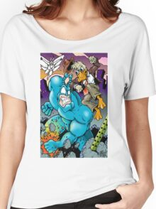 The Tick and Howard Duck Women's Relaxed Fit T-Shirt
