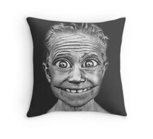 Photoshop Shenanigans Throw Pillow