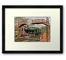 Buckfastliegh engine  Framed Print
