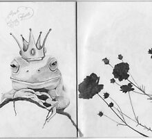 The Sketchbook Project Limited Edition Frog Prince by Jo Hawkins