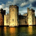 Bodiam Castle (National Trust) by larry flewers