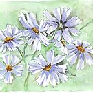 Cosmos in Blue by Maree Clarkson