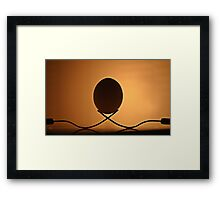 Forks and Egg......... Framed Print