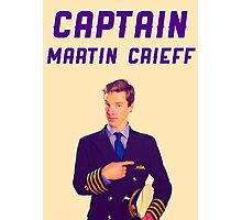 Captain Martin Crieff Photographic Print