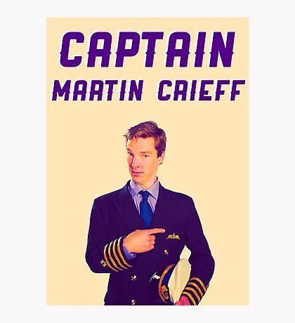 Captain Martin Crieff Photographic Print