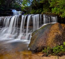 Queens Cascades. by Julie  White