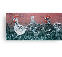 Bridget's Poultry 2 Canvas Print