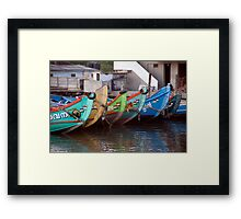 Bright Bows Of Kerala Framed Print