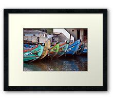 Bright Bows Of Kerala Framed Print