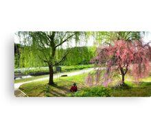 Cherry Blossom in Kyoto Canvas Print