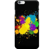 Paint splat iPhone Case/Skin