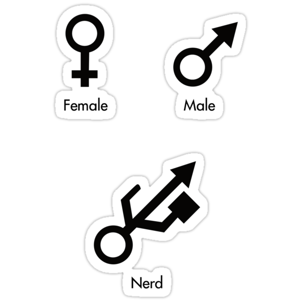 Female, Male, Nerd! by Alessandro Ionni